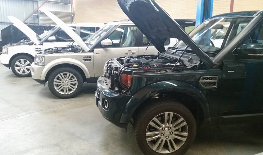 Land Rover Dicovery Fit Outs
