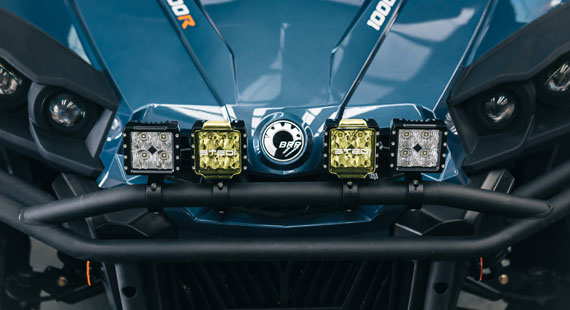 C4 Filter Covers Can Am Commander 1000r Limited