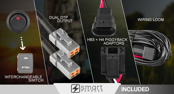 STEDI Smart Harness Wiring Loom Kit